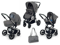 Foppapedretti - I Wood Travel System - Elite Grey - (3parts)