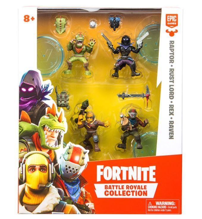 Fortnite Battle Royale Squad Pack Prima Toys