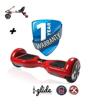"Hoverboard i-Glide 6.5"" Bluetooth & Drifter Cart Combo"