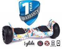 "NEW Hoverboard iGlide™ V4 8.5"" APP Enabled Bluetooth Off-Road"