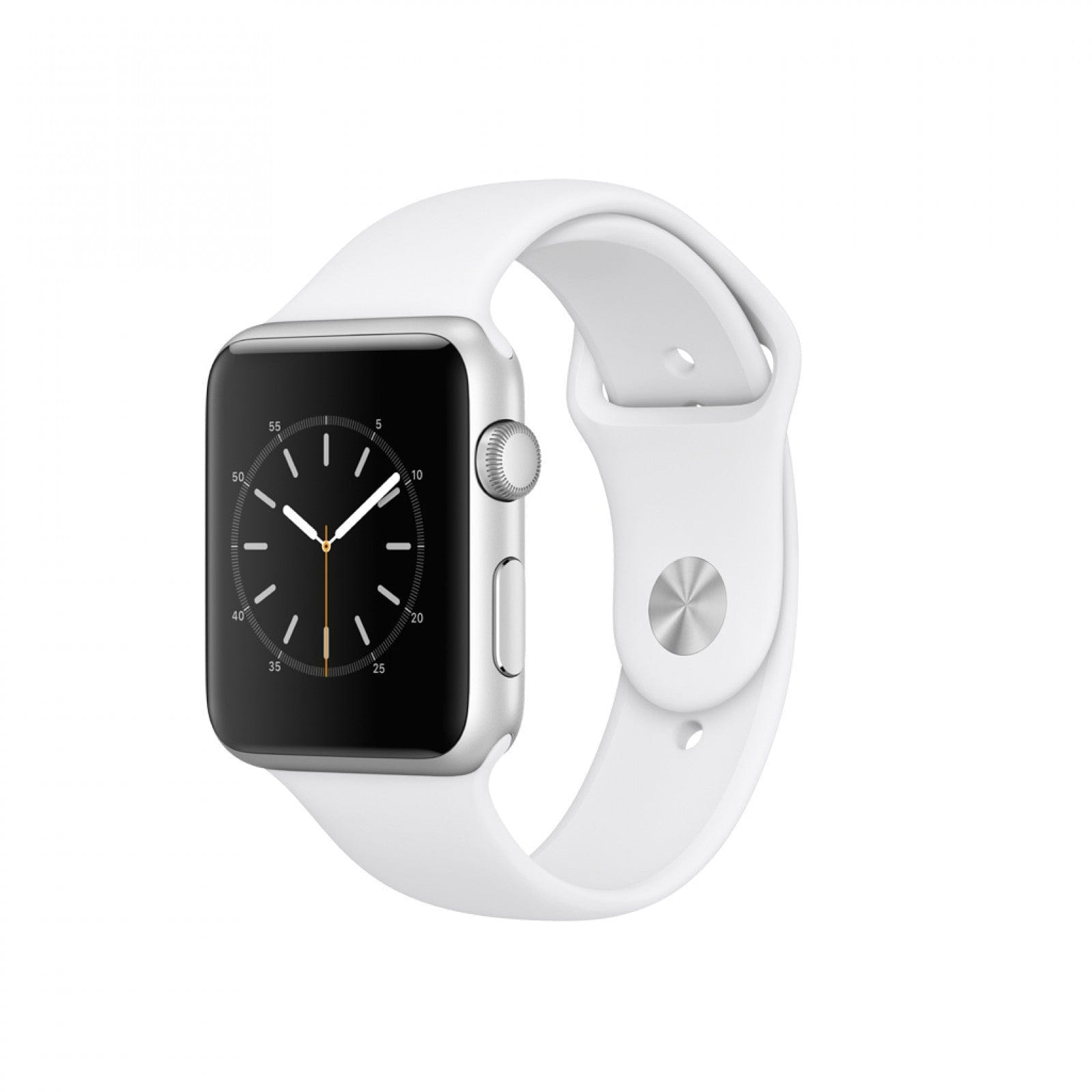 iStore smart watch 42mm Silver Aluminium Case with White Sport Band - Series 1