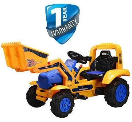 Kids Elctric Ride On Construction Front End Loader Exclusivebrandsonline