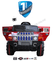 Kids Electric Ride On Car Hummer Style Limo 4X4