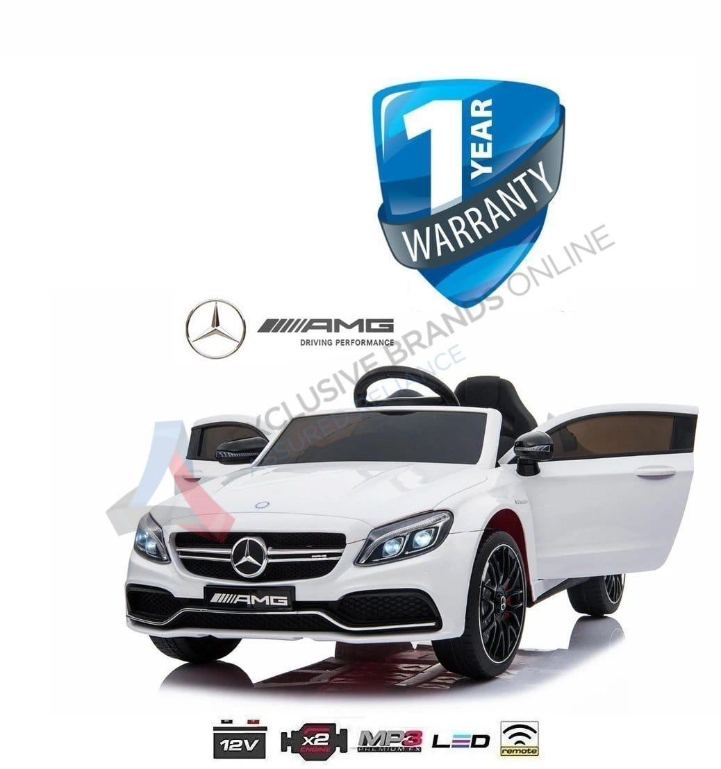 Kids Electric Ride On Car Mercedes C63s Exclusivebrandsonline
