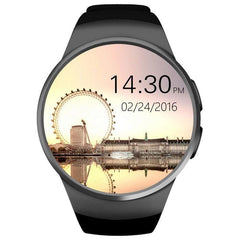 KW18 Kingwear Bluetooth Smartwatch/Phone For Iphone IOS & Android Devices - Black Exclusivebrandsonline