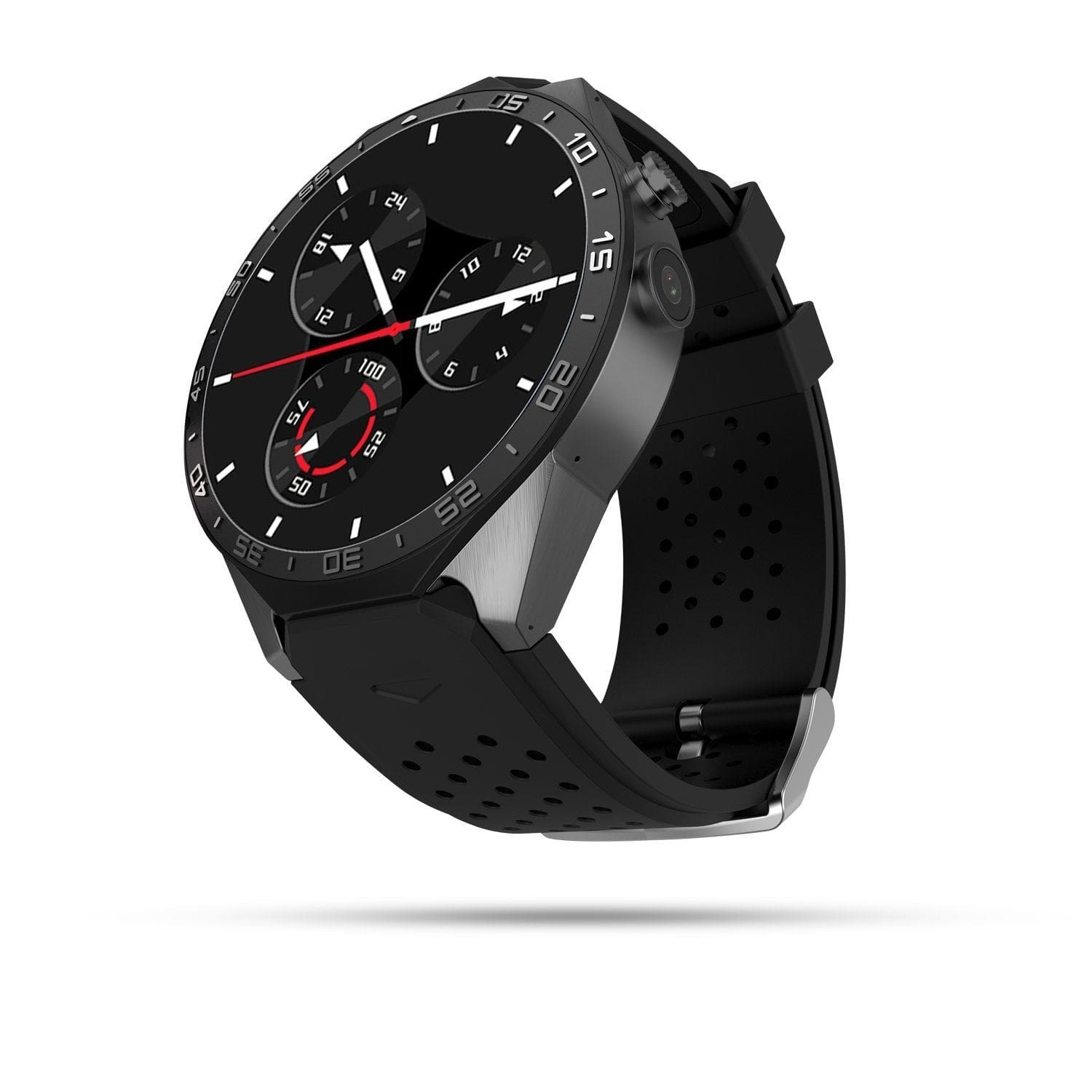 KW88 Kingwear Bluetooth Smartwatch/Phone for IOS & Android -Black Exclusivebrandsonline