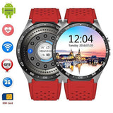 KW88 Kingwear Bluetooth Smartwatch/Phone for IOS & Android Devices Exclusivebrandsonline