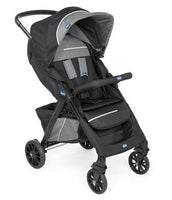 Kwik-One Stroller – Jet Black