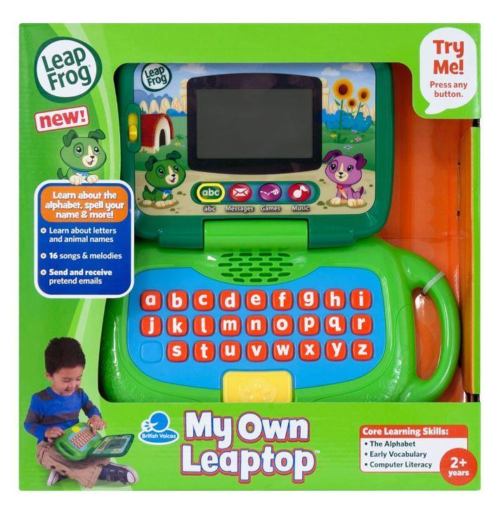 LeapFrog My Own Leaptop 2 - Green Prima Toys