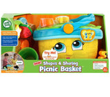 LeapFrog Shapes & Sharing Picnic Basket Prima Toys