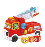 Leapfrog Tumbling Blocks Fire Engine Prima Toys