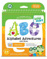 LeapStart Junior - Alphabet Adventures Activity Book