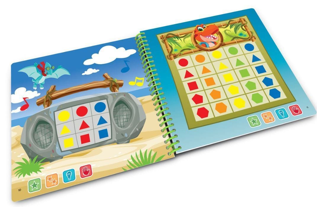 LeapStart Junior - Shapes & Colours Activity Book Prima Toys