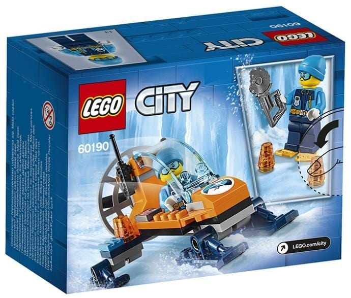 LEGO®City Arctic Expedition: Arctic Ice Glider-60190 Lego