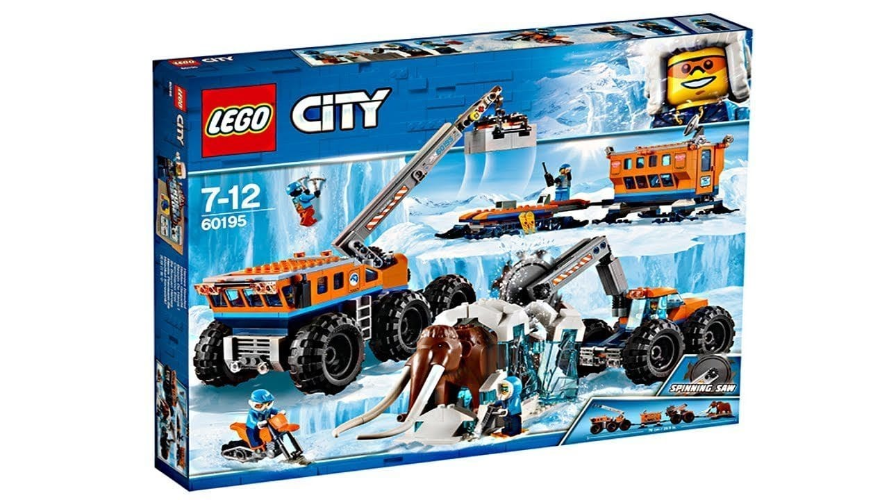 LEGO®City Arctic Expedition: Arctic Mobile Exploration Base-60195 Lego