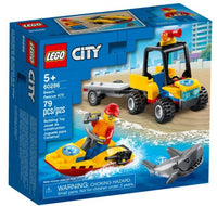 LEGO® City Beach Rescue ATV 60286