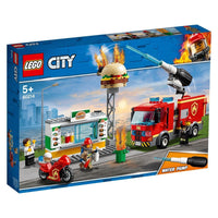 LEGO® City Burger Bar Fire Rescue-60214