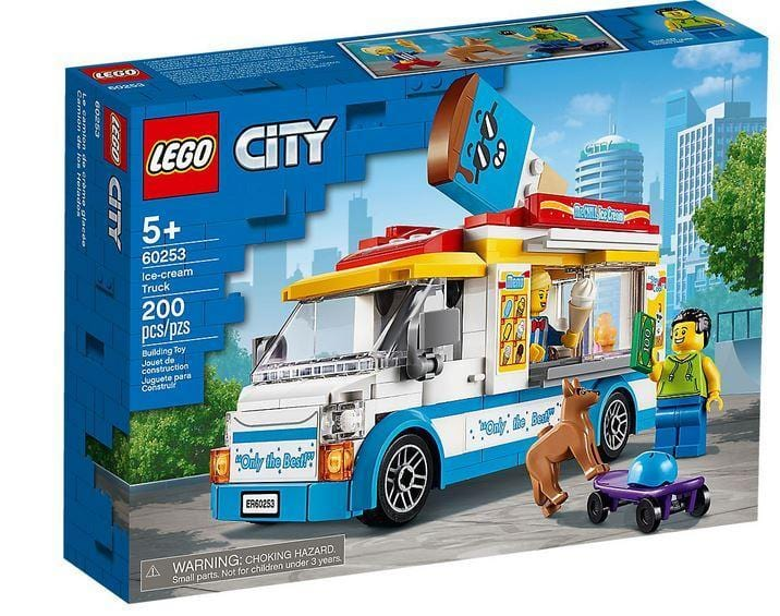 LEGO® City Children Ice-Cream Truck 60253 Lego