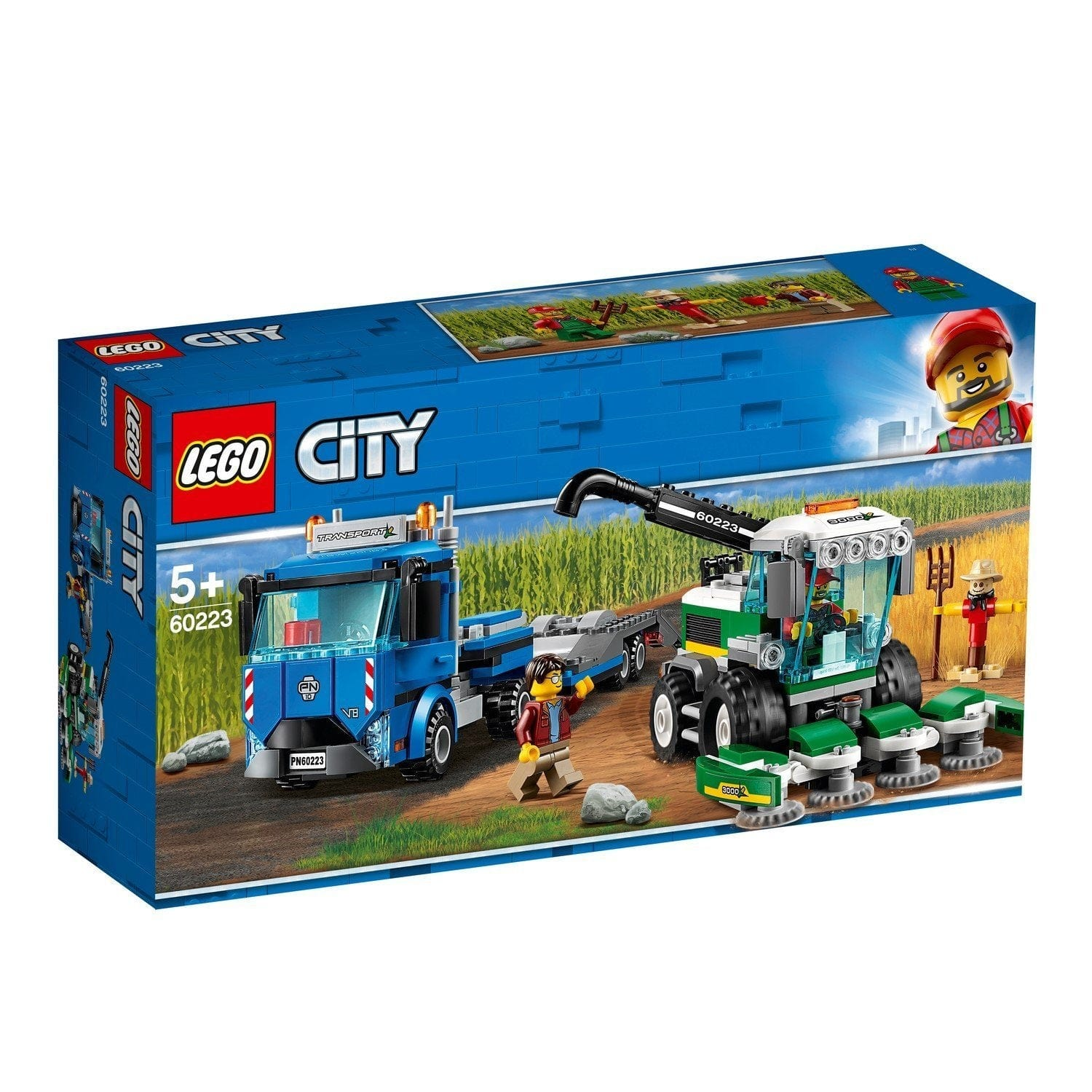 LEGO® City Harvester Transport-60223 Lego