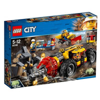 LEGO® City Mining Heavy Driller-60186