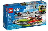 LEGO® City Race Boat Transporter 60254