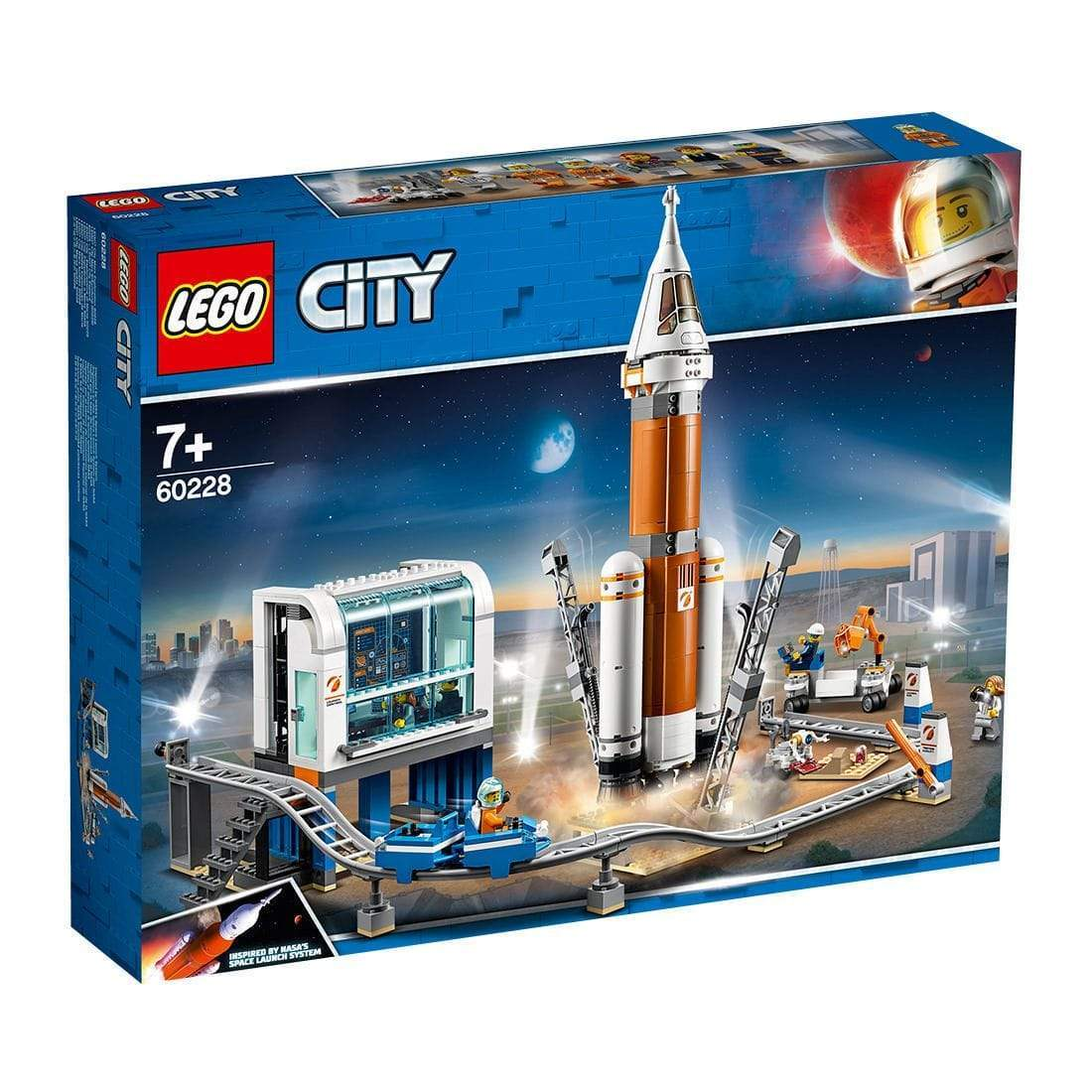 LEGO® City Space Port Deep Space Rocket and Launch Control: 60228 Lego