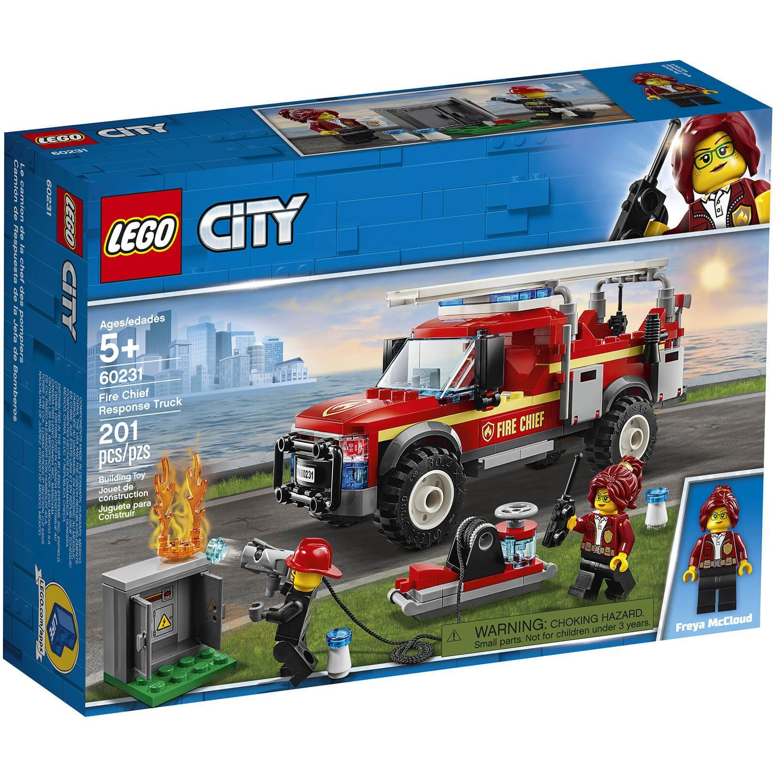 LEGO® City Town Fire Chief Response Truck: 60231 Lego
