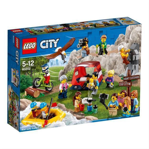 LEGO®City Town People Pack - Outdoor Adventures-60202 Lego