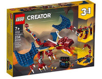 LEGO® Creator Fire Dragon-31102