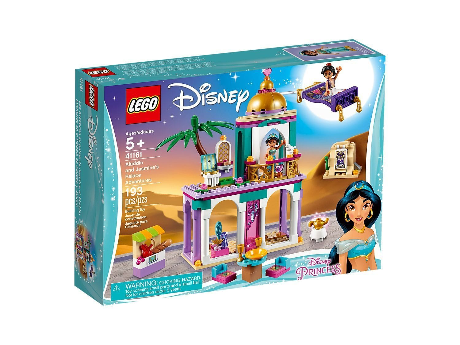 LEGO®Disney Aladdin and Jasmine's Palace Adventures- 41161 lego