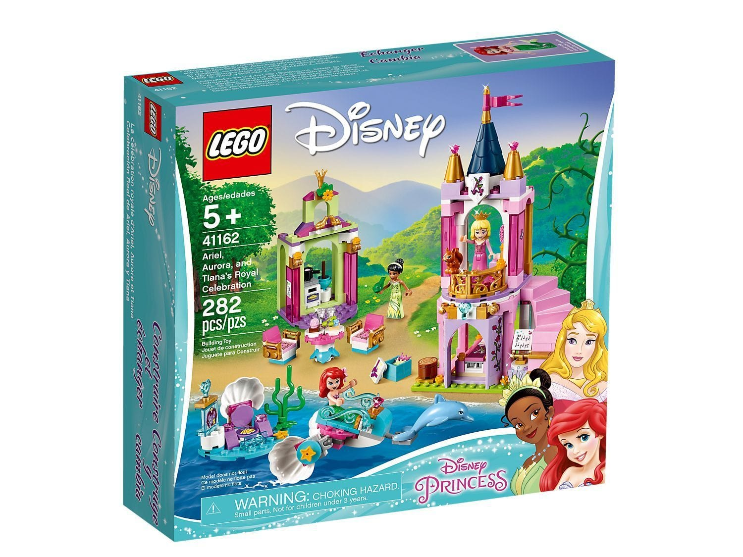 LEGO®Disney Ariel, Aurora, and Tiana's Royal Celebration- 41162 lego