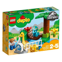 LEGO®DUPLO®          Jurassic World Gentle Giant Petting Zoo-10879