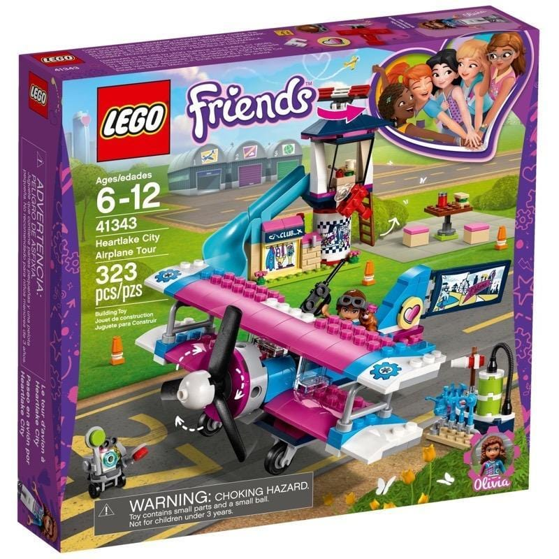 LEGO® Friends Heartlake City Airplane Tour-41343 lego