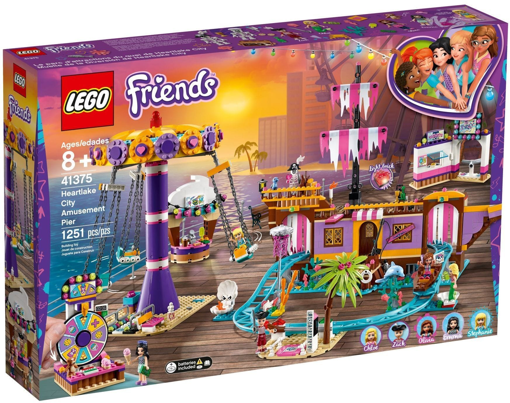 LEGO® Friends Heartlake City Amusement Pier: 41375 lego