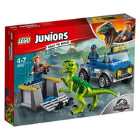 LEGO®Juniors Jurassic World Raptor Rescue Truck-10757