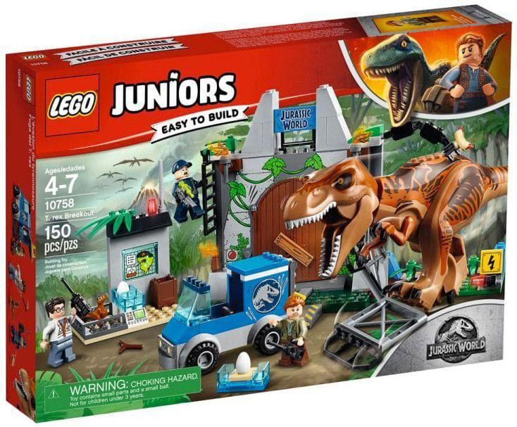 LEGO®Juniors T-Rex break out-10758 lego