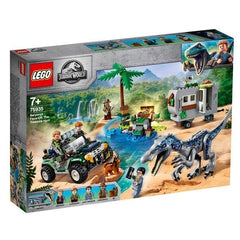 LEGO® Jurassic World Baryonyx Face-Off: The Treasure Hunt: 75935 lego