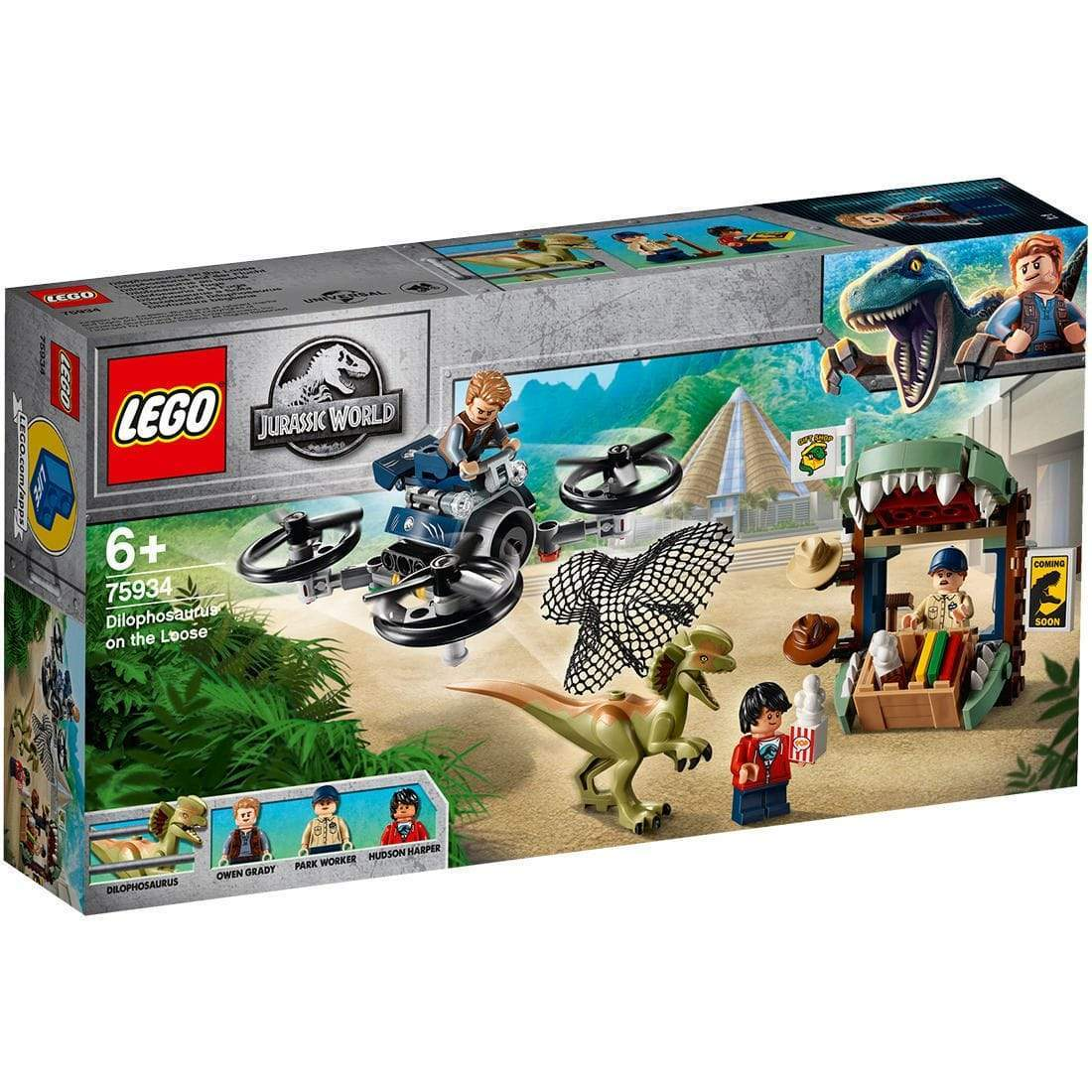 LEGO® Jurassic World Dilophosaurus on the Loose: 75934 lego