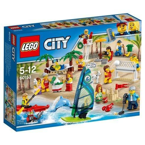lego lego LEGO® City Town People pack: Fun at the Beach -60153