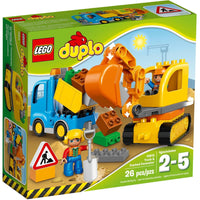 LEGO® Duplo®Town Truck & Tracked Excavator -10812