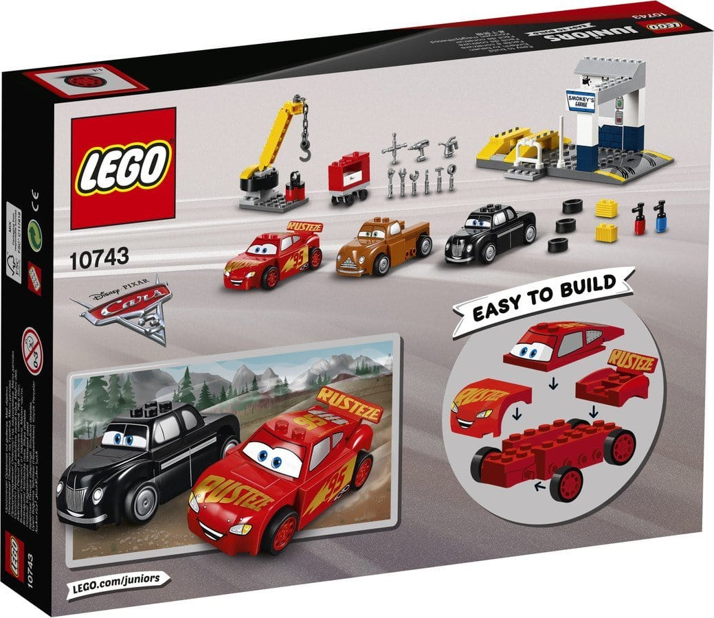 Lego Juniors Smokeys Garage 10743 Exclusivebrandsonline