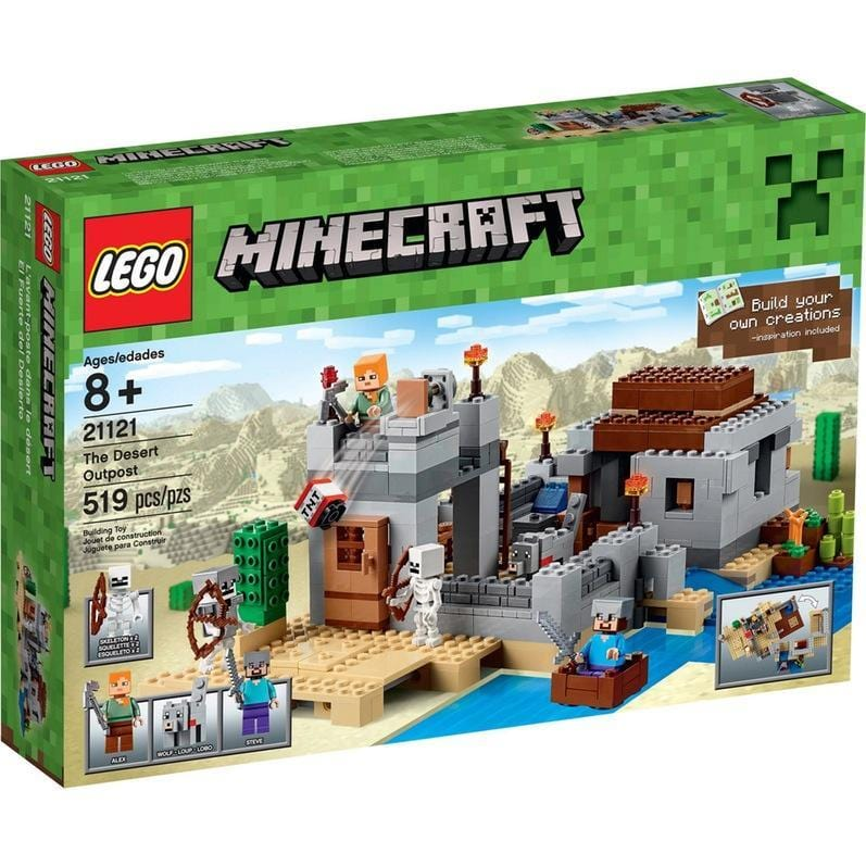 lego lego LEGO® Minecraft The Desert Outpost-21121