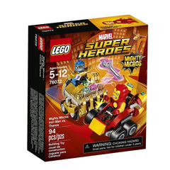 lego lego LEGO®Super Heroes Mighty Micros: Iron Man vs. Thanos-76072