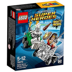 lego lego LEGO®Super Heroes Mighty Micros: Wonder Woman™ vs. Doomsda-76070