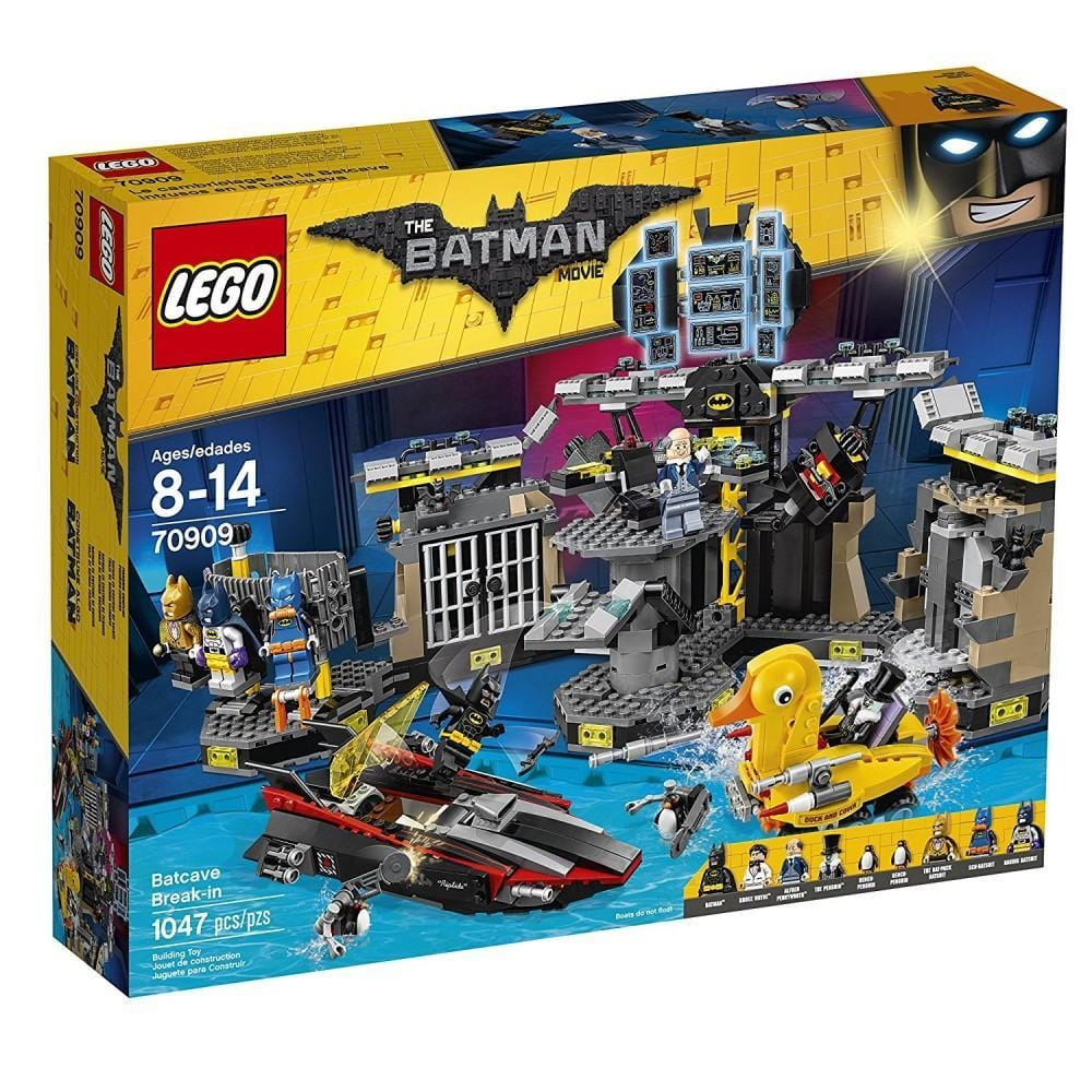 lego lego LEGO®The Batman Movie Batcave Break-in-70909