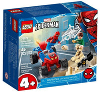 LEGO® Marvel Spider-Man and Sandman Showdown 76172