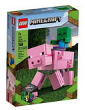 LEGO®Minecraft™BigFig Pig with Baby Zombie 21157 Lego