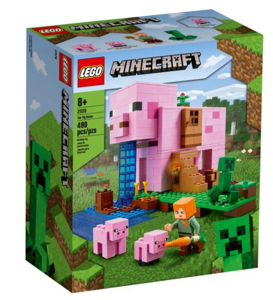 LEGO® Minecraft The Pig House 21170 Lego