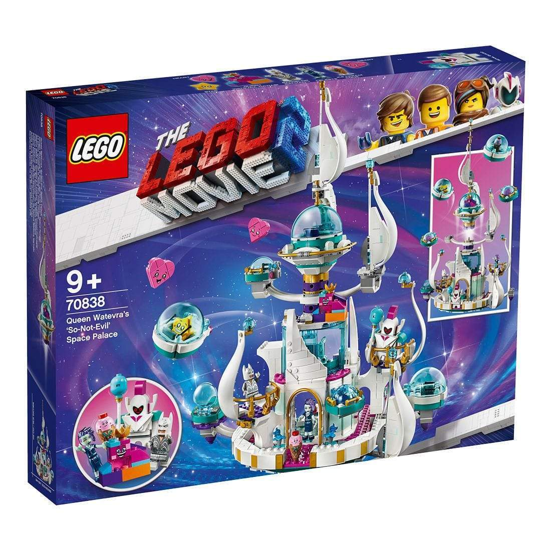 LEGO® MOVIE 2™Queen Watevra's 'So-Not-Evil' Space Palace: 70838 lego