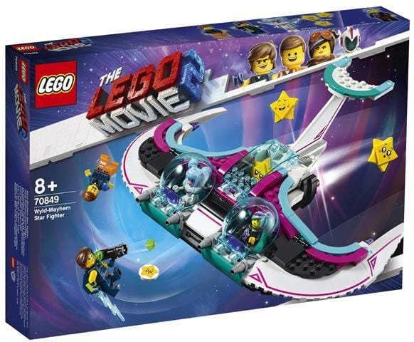 LEGO® MOVIE 2™Wyld-Mayhem Star Fighter 70849 lego
